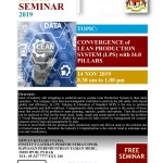 Seminar 'Convergence of Lean Production System (LPS) with I4.0 Pillars'